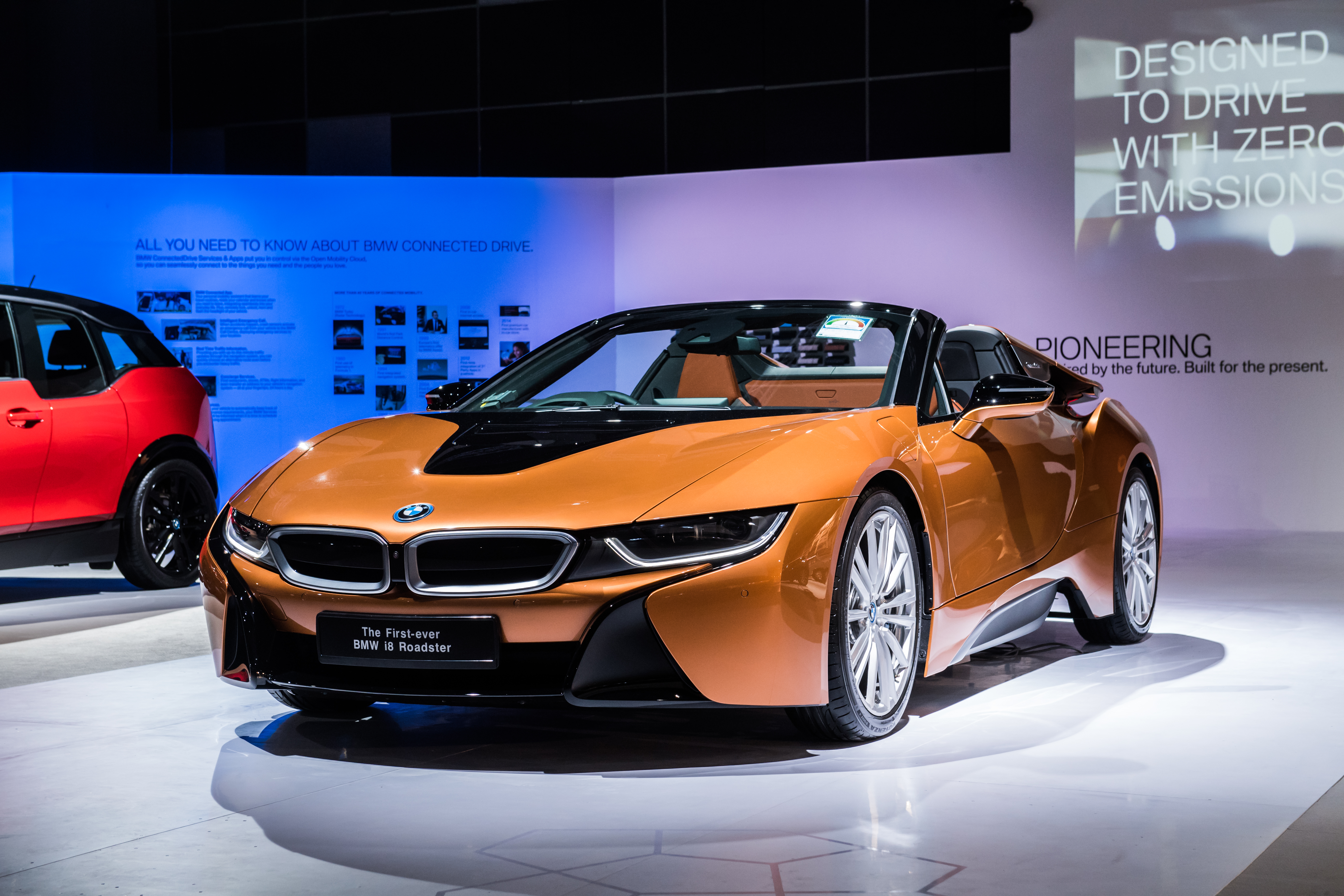The First Ever Bmw I8 Roadster Now Available In Singapore Press