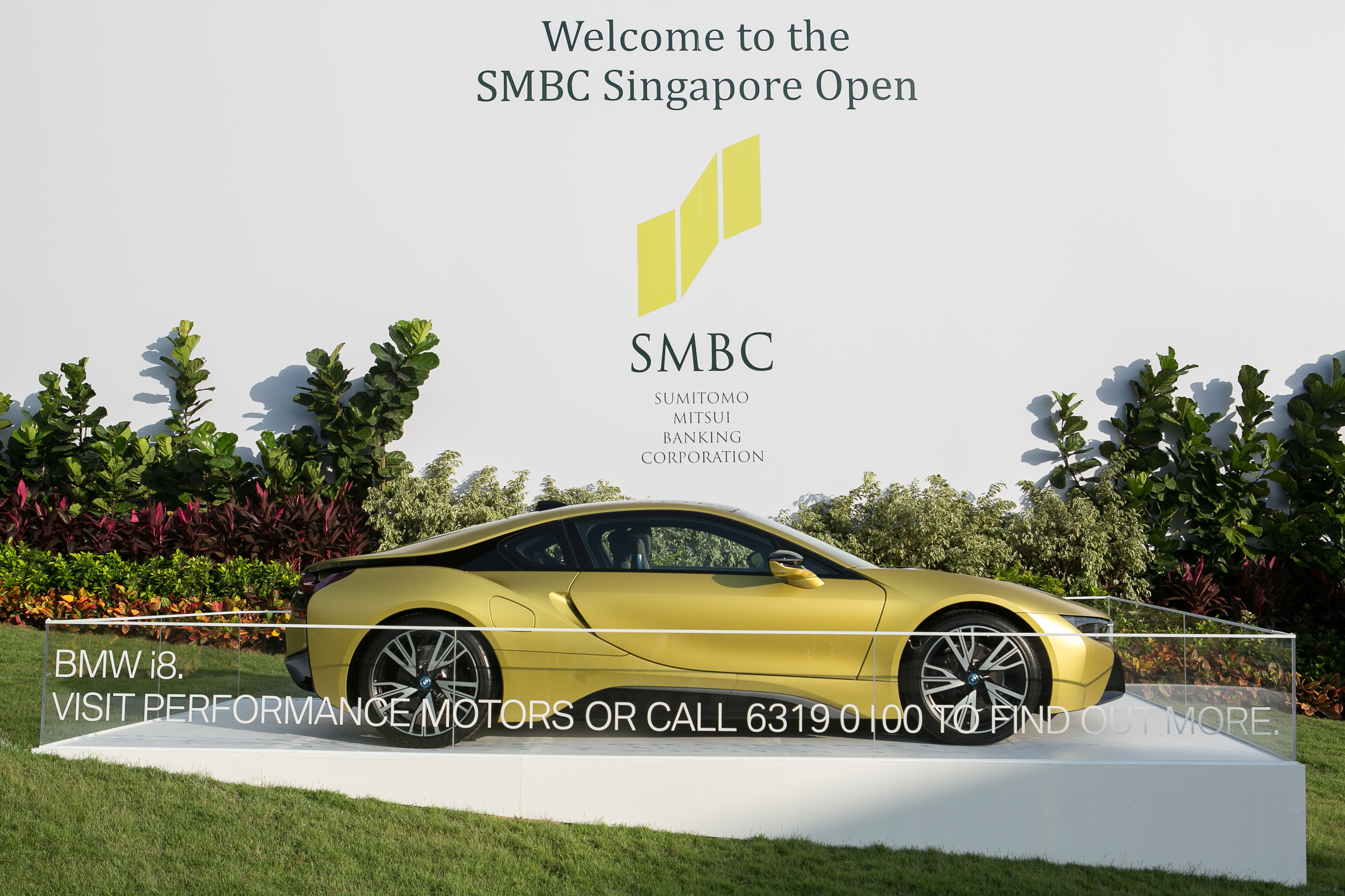 Bmw Returns As The Official Car Of Smbc Singapore Open