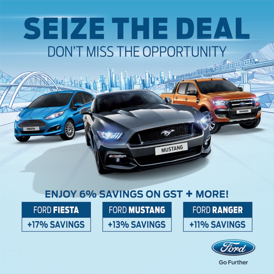 Sdac ford offers savings up to rm113000 in its seize the deal campaign press releases sime darby motors